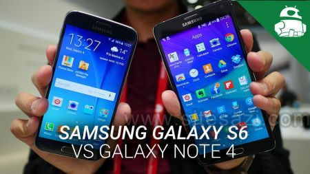 گروه طراحی وب سایت:Samsung Galaxy S6 vs Galaxy Note 4 - Quick Look